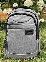 Рюкзак міський для ноутбука Edison 1027 Сірий ( код: IBR181S )
