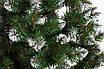 Ялинка ЛЮКС якості штучна лита,  Лідія з білими кінчиками 2,20 м., фото 2