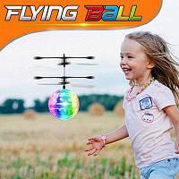 Літаючий кулю вертоліт світиться сенсор Flying Ball Air led від руки (GIPS), літаючий диско куля