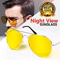 Антиблікові окуляри Авіатори для водіїв (GIPS), Окуляри антифари, Водійські окуляри, окуляри від сонця
