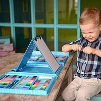 Набір для творчості 208 предметів (GIPS), Набір для дитячої творчості, Великий набір малювання, Набір