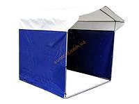 Палатка усиленная из ПВХ ткани 3х2х2м