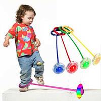 Скакалка на ногу (GIPS), Нейроскакалка, Скакалка дитяча на одну ногу світиться, нейроскакалка з коліщатком