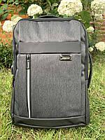 Рюкзак міський для ноутбука Edison 19383 Сірий ( код: IBR182S )