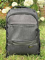 Рюкзак міський для ноутбука Edison 19295 Сірий ( код: IBR183S )