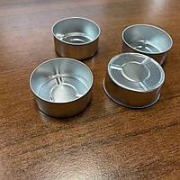 Емкость для чайной свечи алюминевая , контейнер чайной свечи