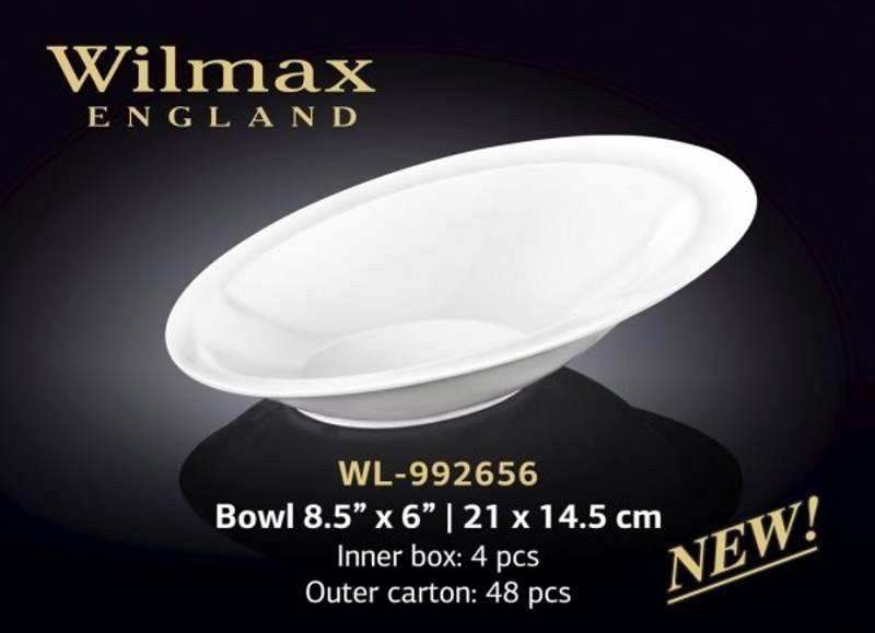 Салатник 21х14,5 см Wilmax Wl-992656