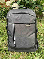 Рюкзак міський для ноутбука Edison 19292 Світло-сірий ( код: IBR184S )
