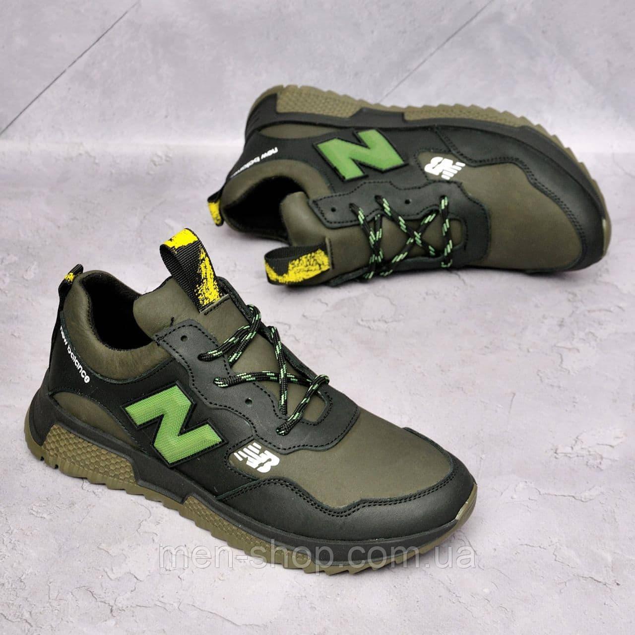 Чоловічі шкіряні кросівки New Balance