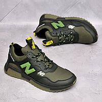 Чоловічі шкіряні кросівки New Balance, фото 1