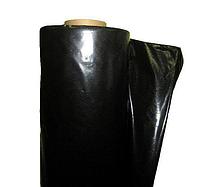 Пленка черная рулонная для тепло- и гидроизоляции 3 м рукав, 6 м ширина, 100 мкм толщина