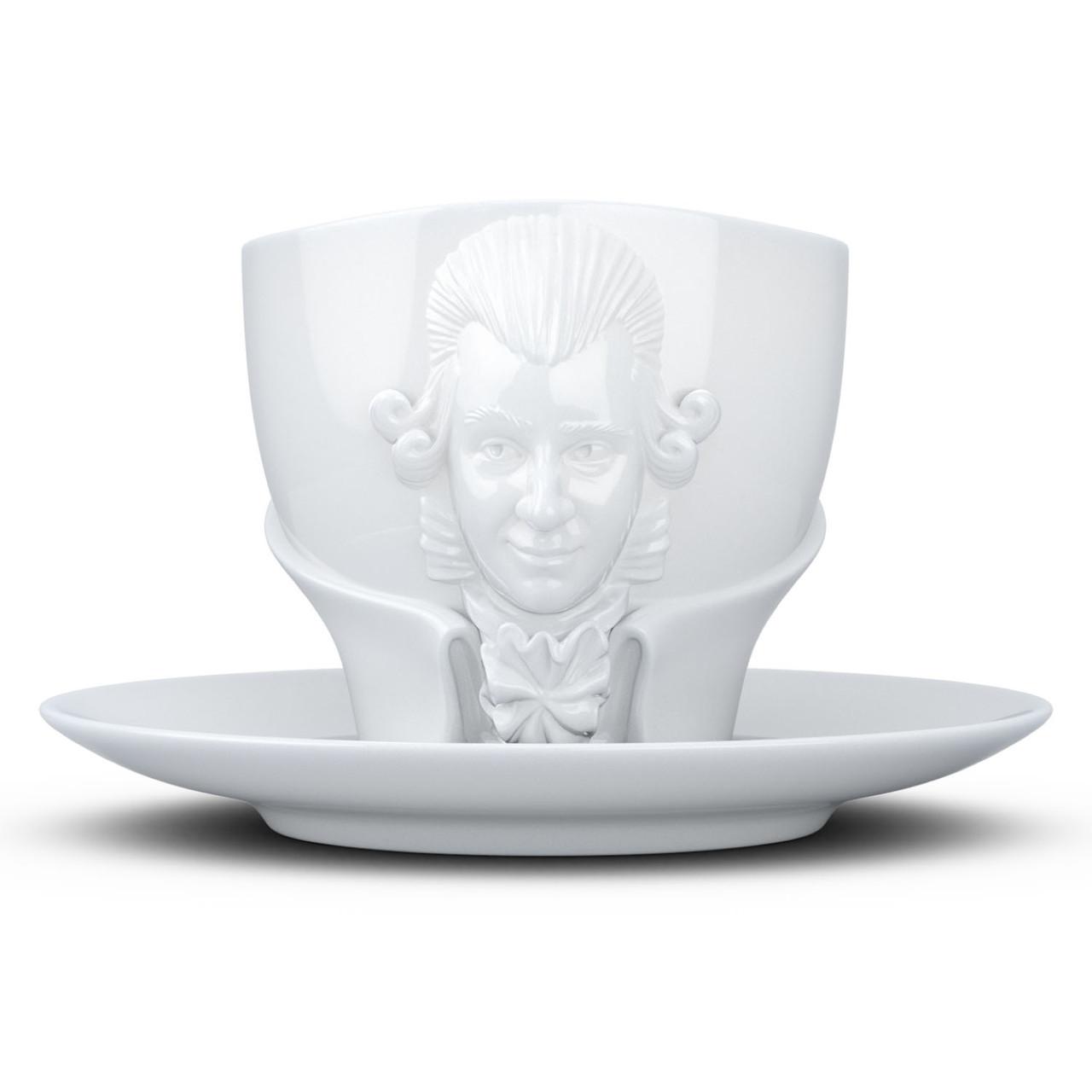 Чашка з блюдцем Tassen Моцарт (260 мл), фарфор