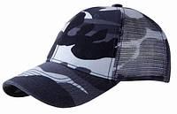 Камуфляжная кепка с сеткой ARMY MESH