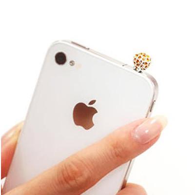 "Аксесуар для Iphone ""Plugo Crystal Ball"", золотий"