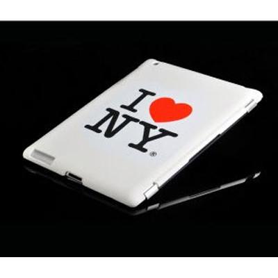 """Кришка для IPad 2 """"I Love NY"""", біла"""