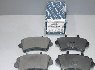 Колодки гальмівні передні Renault Master/Opel Movano 98 - R16 MEYLE 0252361318