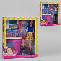 """Лялька домогосподарка CS 699-26 A """"Кухня"""", 2 види, дитина, меблі, кухонне начиння."""