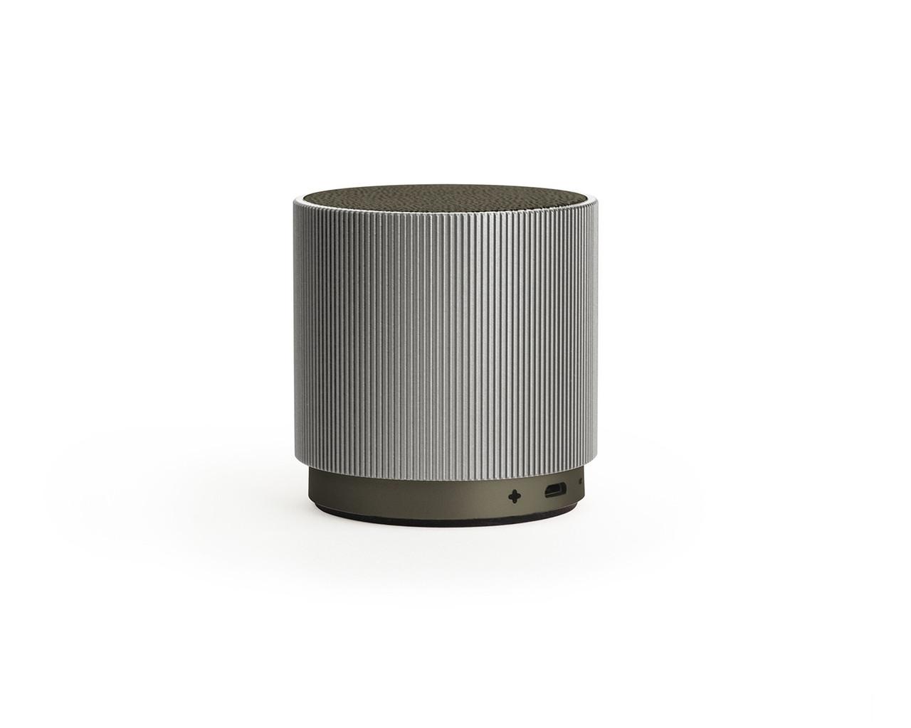 Портативный динамик Lexon Fine Speaker, серый
