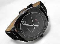Мужские часы CURREN - Chronometer, цвет корпуса и циферблат черный