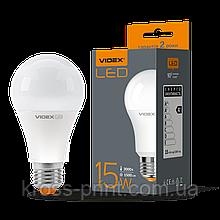Лампа LED, 15W, E27, 3000K, 220V, VIDEX