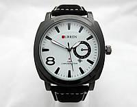 Мужские часы CURREN - Chronometer, цвет корпуса черный, циферблат белый