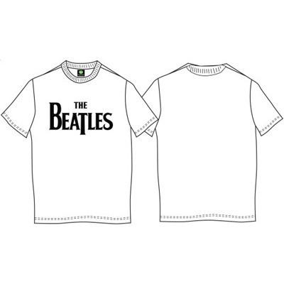 """Футболка Official """"The Beatles"""", біла XL"""