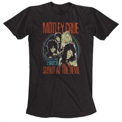 "Футболка ""Motley Crue: Vintage World Tour"", L"