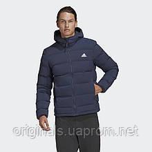 Мужской пуховик Adidas Helionic Soft Hooded Down Jacket FT2519 2021 D