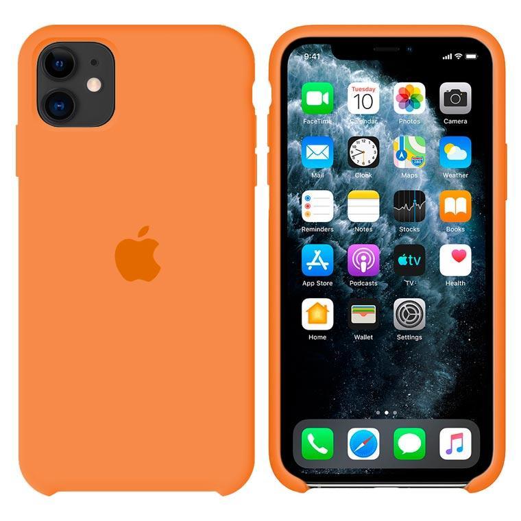 Чохол Silicone Case iPhone Original 12 Mini №56 (Papaya) (N49)