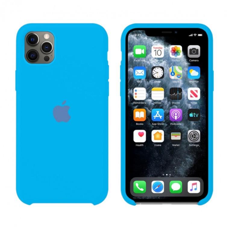 Чехол Silicone Case Original iPhone 12, 12 Pro №63 (Waves) (N66)