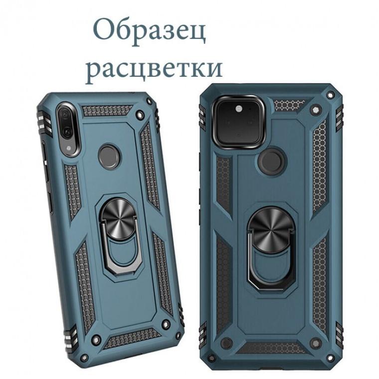 Чехол HONOR Hard Defence Samsung A12 2021 A125 зеленый