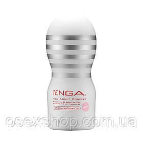 Мастурбатор Tenga Deep Throat (Original Vacuum) Cup (глибока глотка) GENTLE з вакуумною стимуляцією