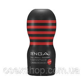 Мастурбатор Tenga Deep Throat (Original Vacuum) Cup (глубокая глотка) STRONG с вакуумной стимуляцией