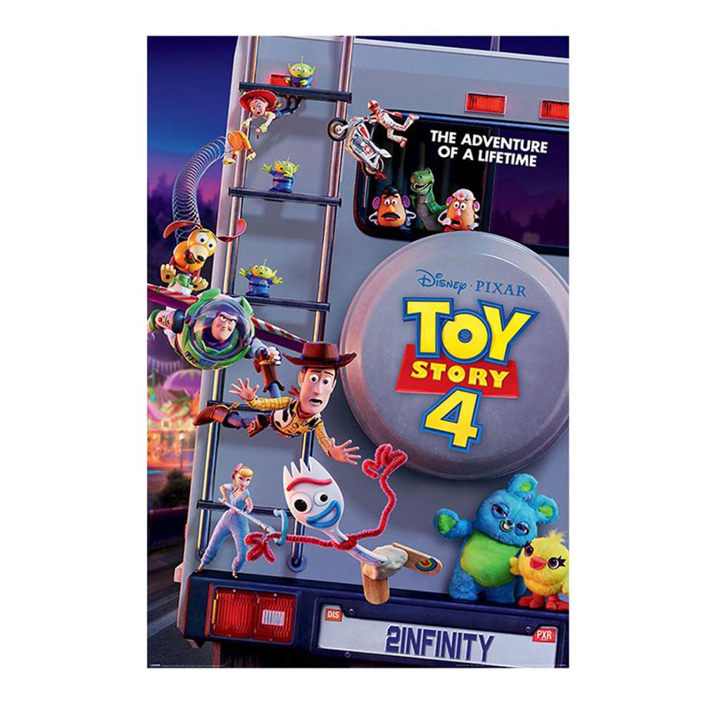 """Постер """"Історія іграшок 4"""" (Пригода на все життя) 61 х 91,5 см"""