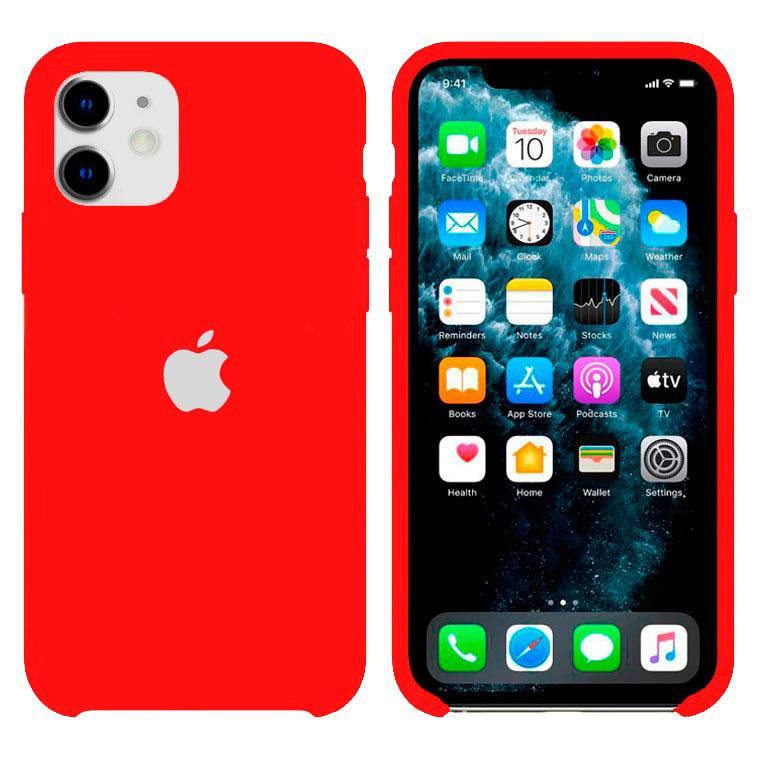 Чохол Silicone Case iPhone Original 12 Mini №33 (China red) (N31)
