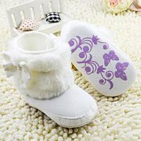 Детские ботинки-пинетки.Первая обувь для малышей., фото 1