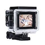 🔝 Екшн камера на шолом (GIPS), A7 Sports Cam, HD 1080p, налобні відеокамера, для спорту, колір - сріблястий,,, фото 3