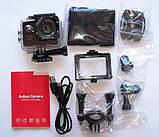🔝 Екшн камера на шолом (GIPS), A7 Sports Cam, HD 1080p, налобні відеокамера, для спорту, колір - сріблястий,,, фото 8
