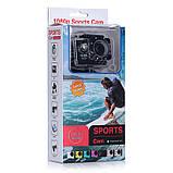 🔝 Екшн камера на шолом (GIPS), A7 Sports Cam, HD 1080p, налобні відеокамера, для спорту, колір - сріблястий,,, фото 9