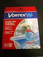 Салфетка из микрофибры для стеклянной посуды ТМ Vortex