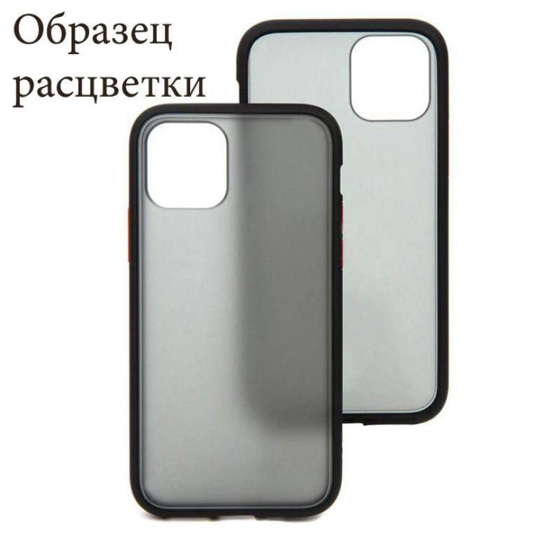 Чохол Goospery Case Xiaomi Redmi 9A чорно-червоний