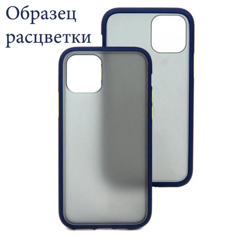 Чехол Goospery Case Xiaomi Redmi 9 синий