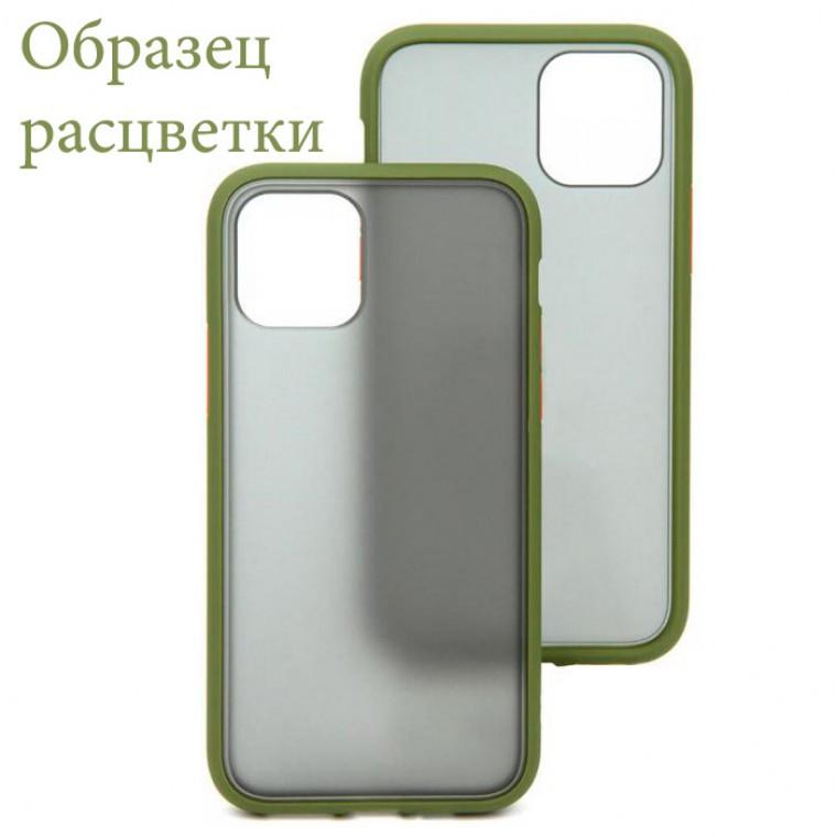 Чехол Goospery Case Samsung A51 5G A516 хаки