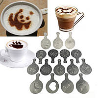 Трафарети для кави A-Plus 16 шт