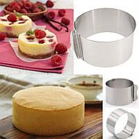 Форма розсувні Cake Ring 28 х 10 см, кругла 613LC