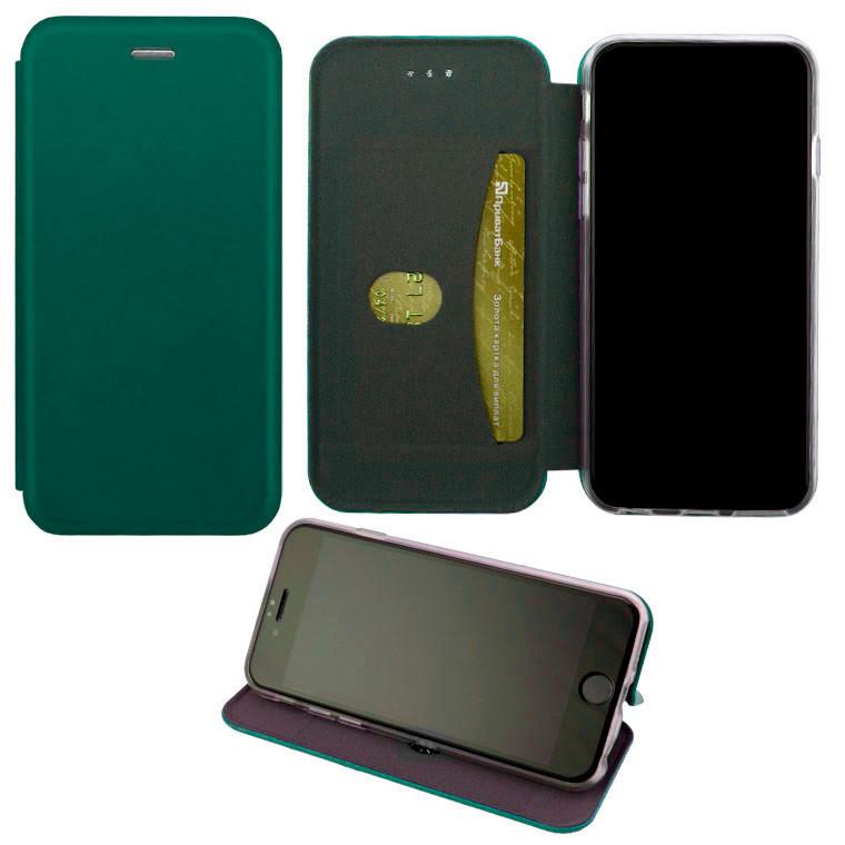 Чохол-книжка Elite Case Samsung A01 A015, M01 M015 темно-зелений