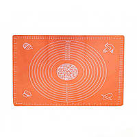 Силіконовий килимок з розміткою для коржів A-Plus, 3040-WY