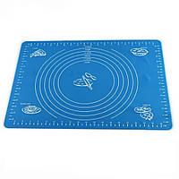 Силиконовый коврик для выпечки с разметкой Silicon Mate Testa 40 х 30 см, 7466