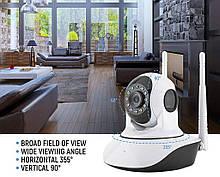 IP камера видеонаблюдения Q5 306V (V380) 2mp (GIPS), wifi камера видеонаблюдения, поворотная камера