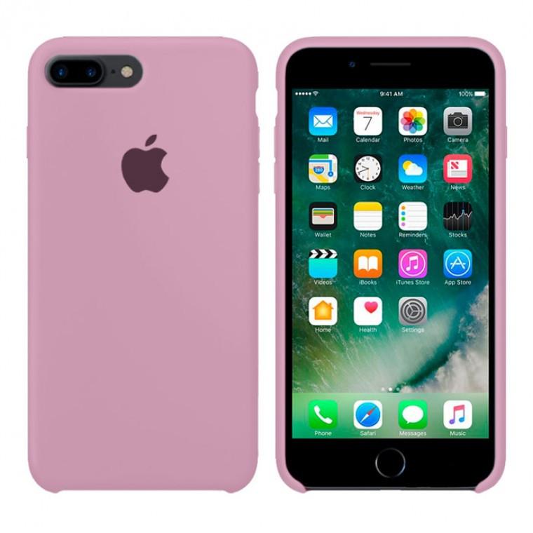 Чехол Silicone Case Original iPhone 7 Plus, 8 Plus №68 (Blackcurrant)
